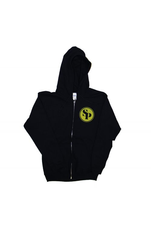 Black Logo Hoody   by Simple Plan