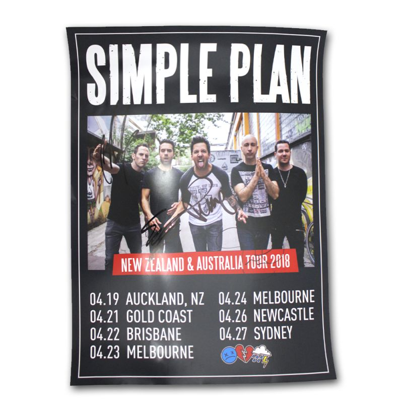 Signed Poster 2018 Australian Tour (Limited)